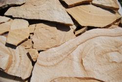 плитняк для дорожек песчаник янтарный с разводами
